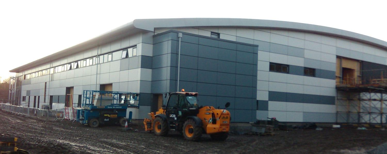 Quotient Bio Campus Egr Relocation – Penicuik, Near Edinburgh