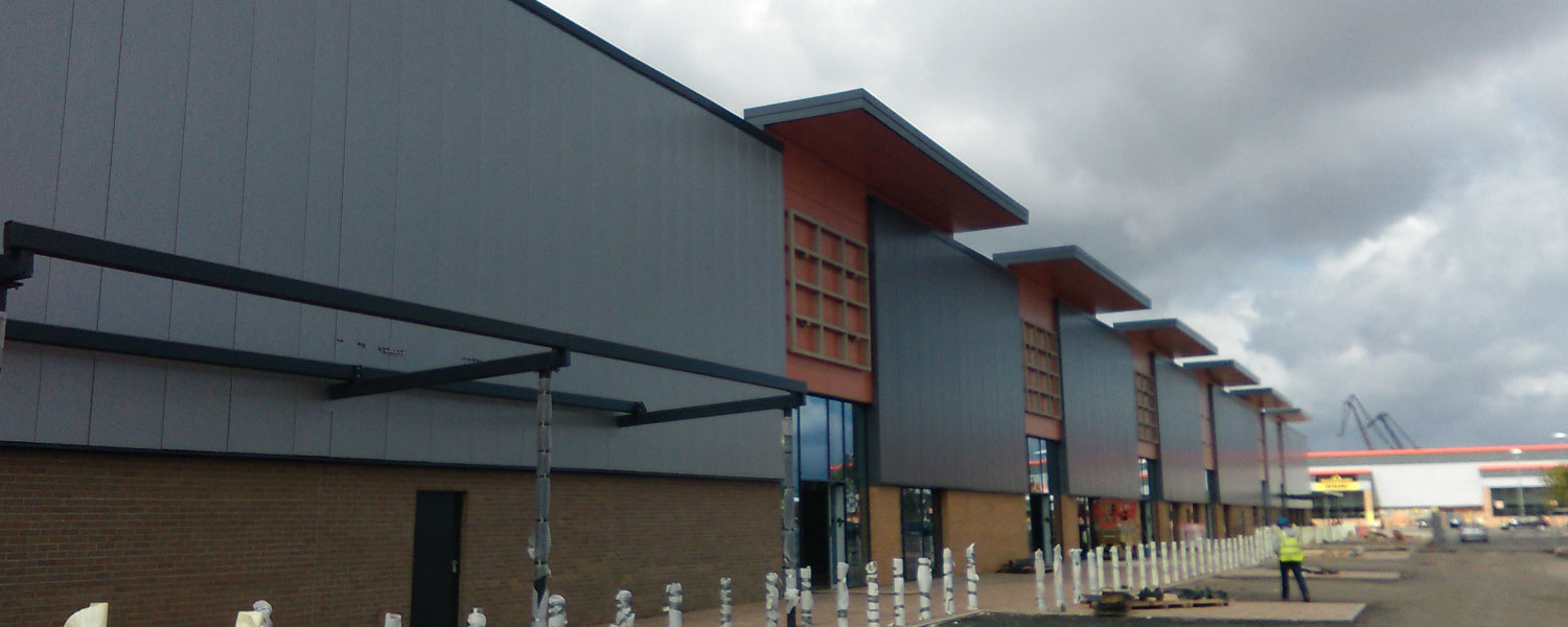 Gallagher Retail Park – Port Glasgow