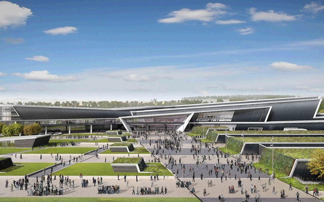 New Aberdeen Exhibition and Conference Centre – Edge Protection and Safety Netting