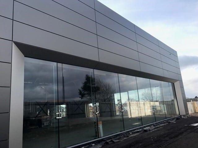 Jaguar Landrover, Heathfield Ayr – Cladding Project Complete