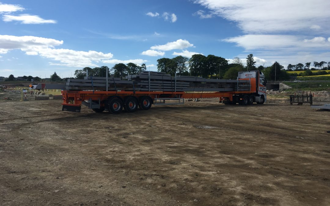 Structural Steelwork – AECC – Exhibition Steel Arrives Onsite