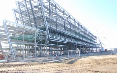 Structural Steelwork – AECC – Hotel Fabrication and Erection Complete
