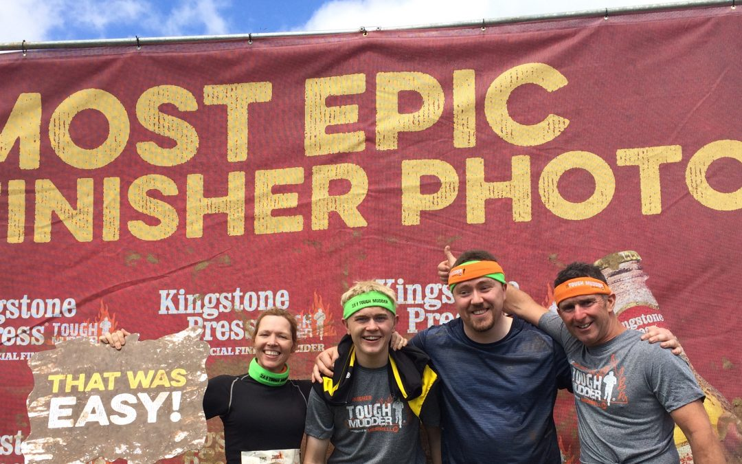 Team Pierce take on Tough Mudder