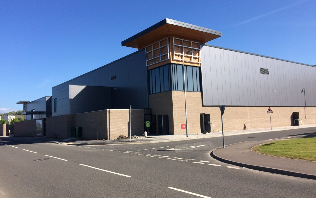 Cladding Division – Gallagher Retail Park Completion