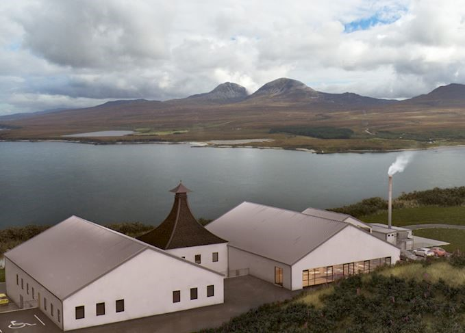 Structural Steelwork and Cladding Division – Ardnahoe Distillery, Islay