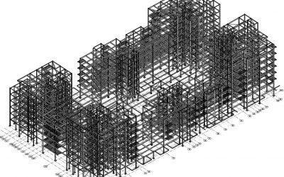 Structural Steelwork – Granton Harbour, Edinburgh