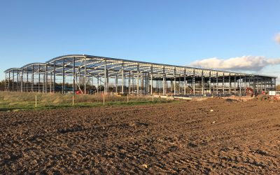 Structural Steelwork – The Hub, Swindon