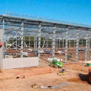 Grange-Park, Northampton - Structural Steel Frame - JDPierce