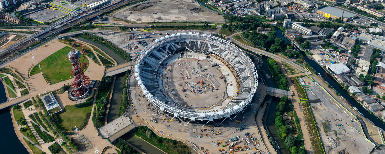 Olympic Stadium Transformation Works