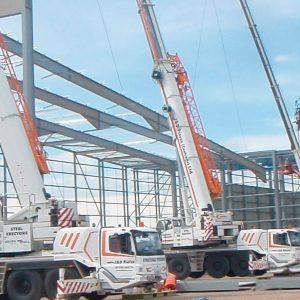 Peel Ports Liverpool Docks - Cranes - JDPierce