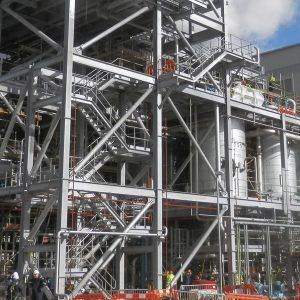 polimeri - structural steel frame