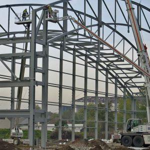 Toryglen Sports Facility - Structural Steel - JDPierce