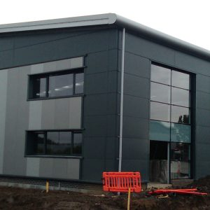 Clyde gateway - Roofing and Cladding - JDPierce