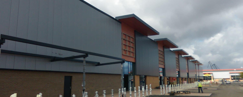Gallagher Retail Park – Port Glasgow