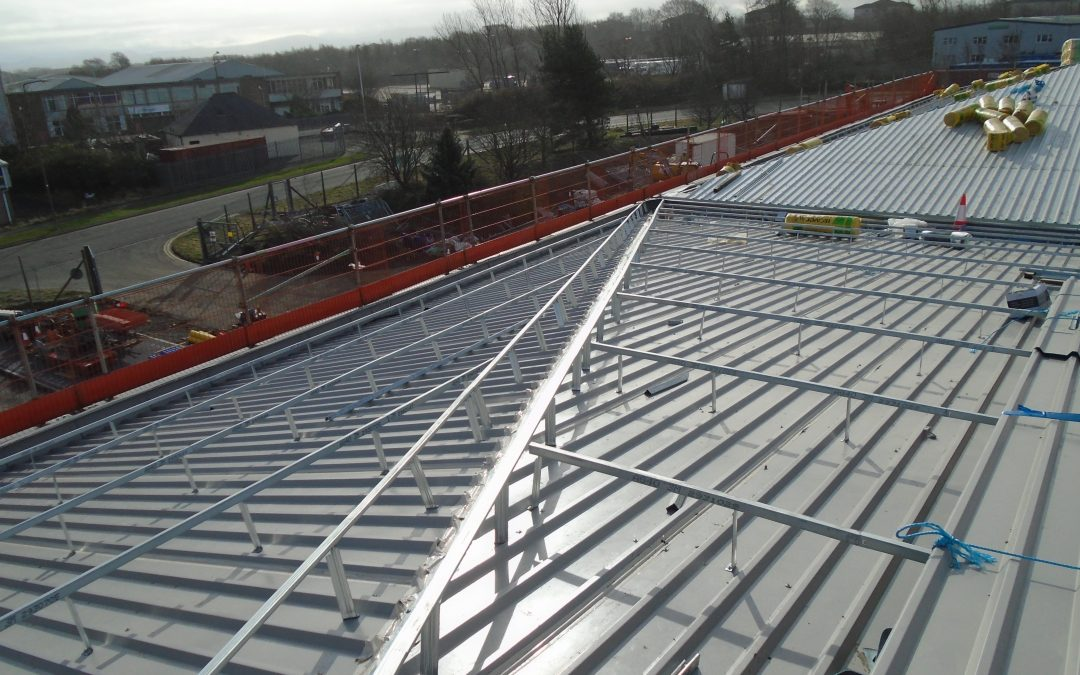 West Lothian Council Depot – Cladding, Roof and Edge Protection Project Nears Completion