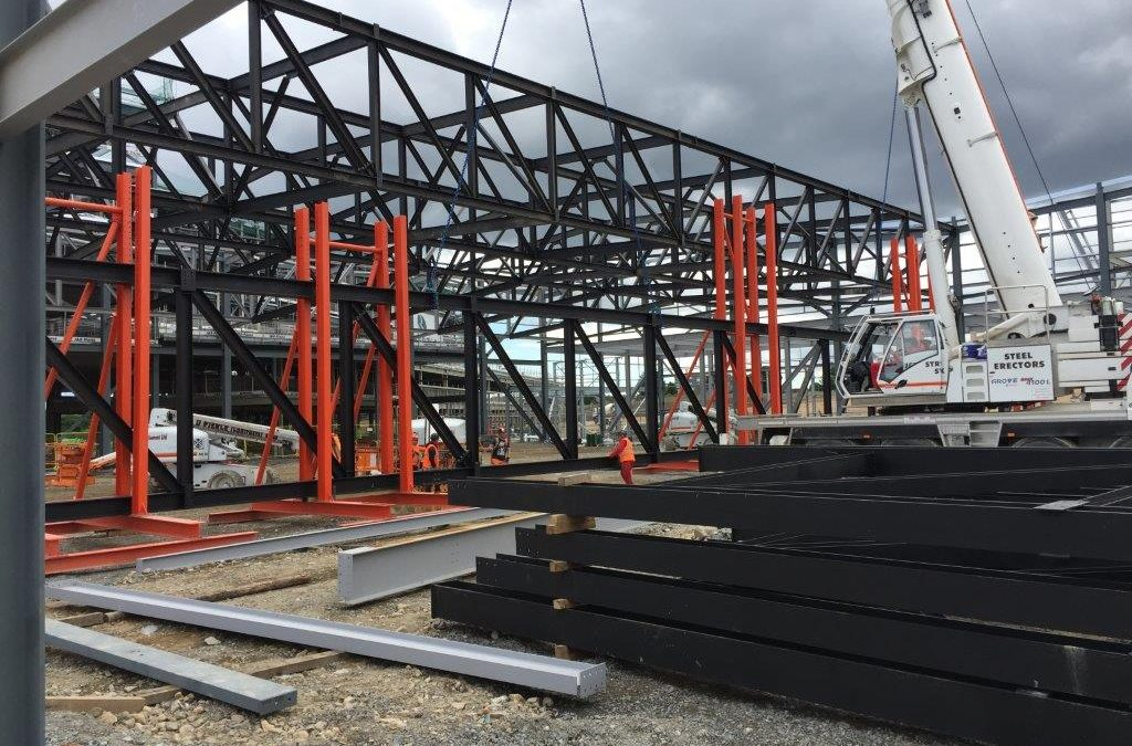 Structural Steelwork – AECC – Conference Centre Trusses