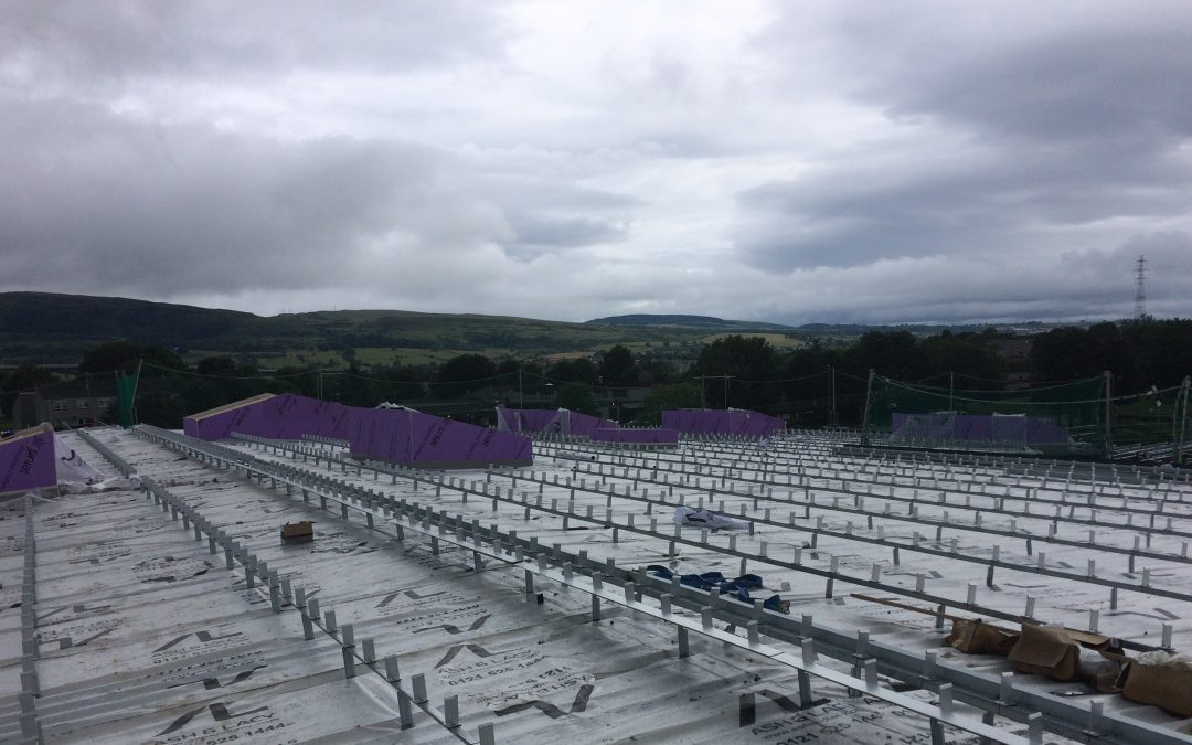 Cladding, Roof and Edge Protection – Bargarran Primary School, Erskine