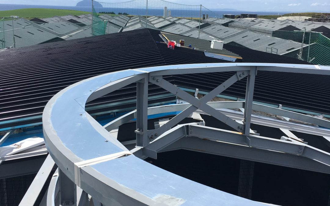 Steel, Cladding, Roof and Edge Protection – Hendricks Gin Visitors Centre, Girvan