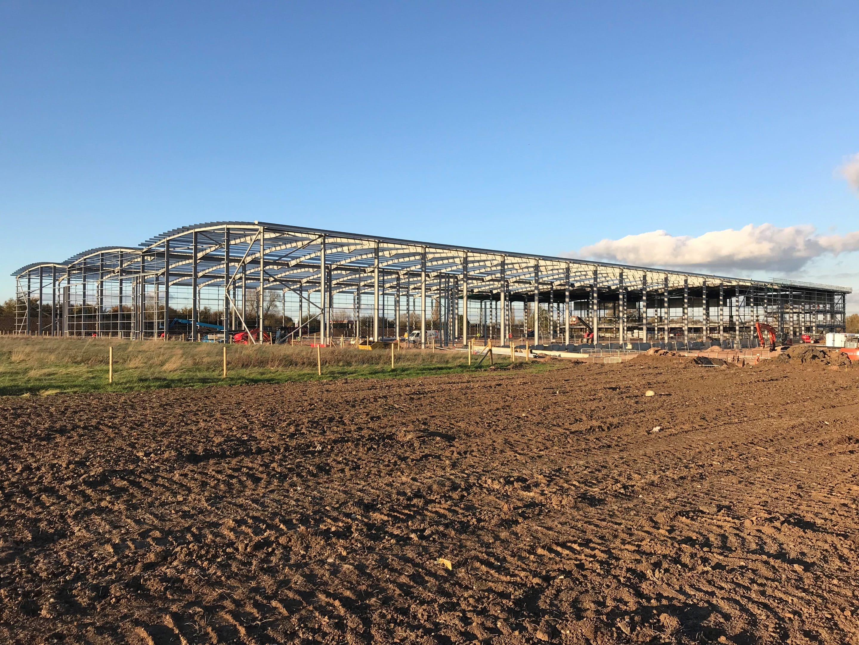 Structural Steelwork - The Hub, Swindon | J & D Pierce