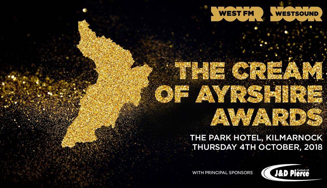 The Cream of Ayrshire Awards 2018