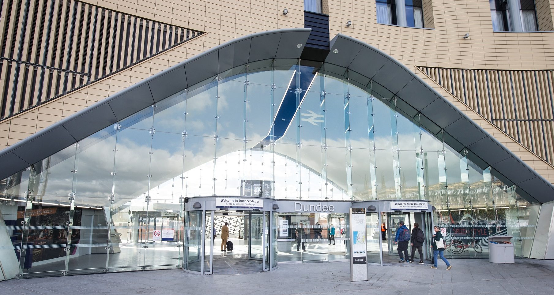 Dundee Railway Station complete James Thompson (4)