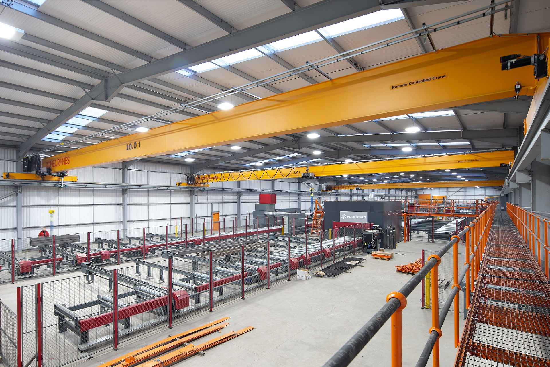 Voortman CNC facilities, Glengarnock | J & D Pierce