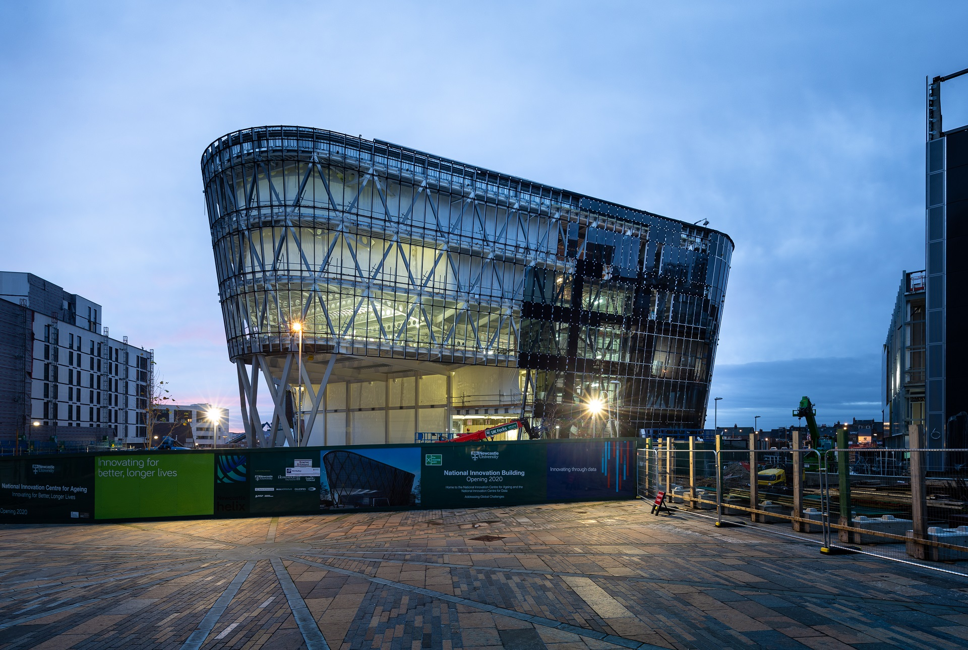 Construction of National Innovation Centre Newcastle (1 of 1)-6