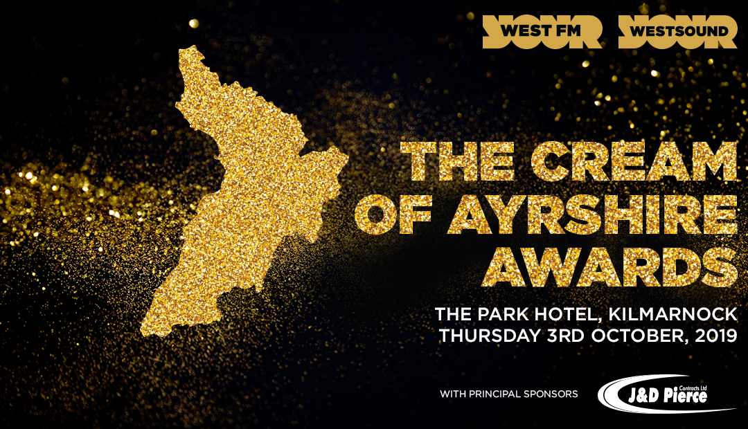 J&D Pierce Continue Principal Sponsorship of Cream of Ayrshire Awards 2019