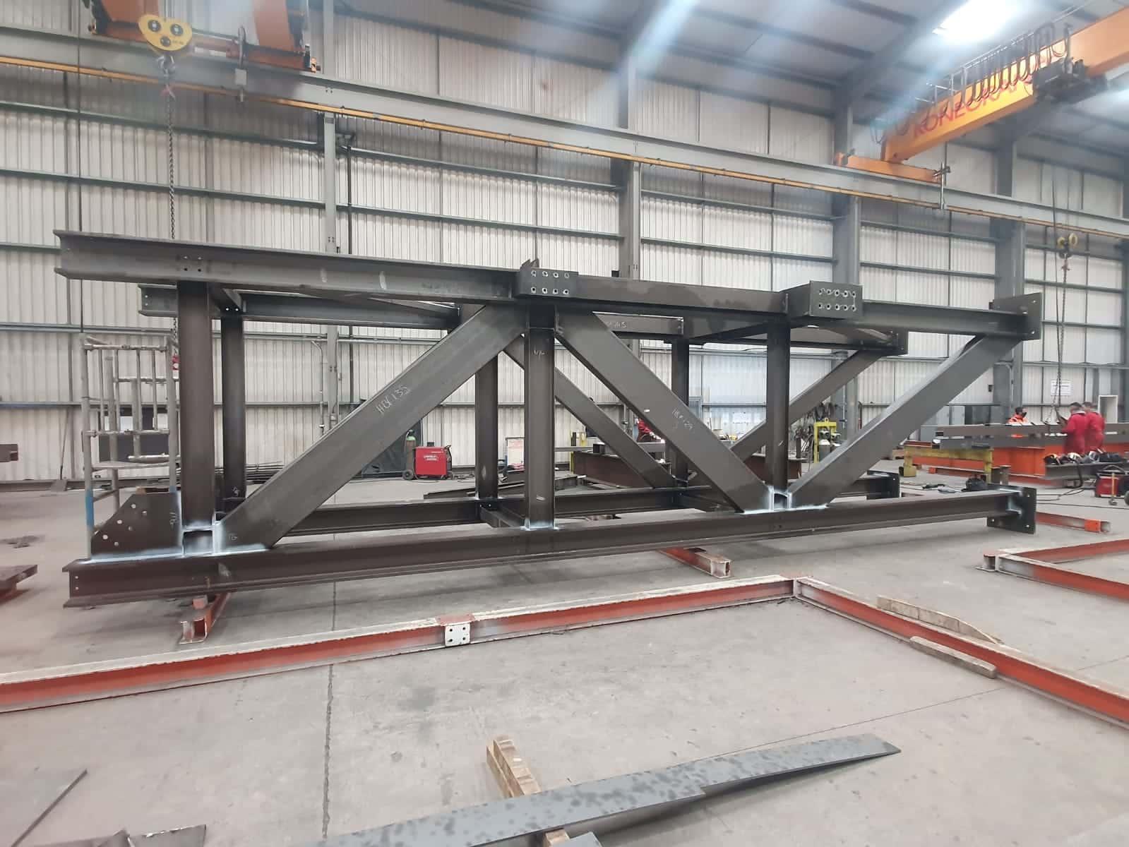Welded steel frames 4