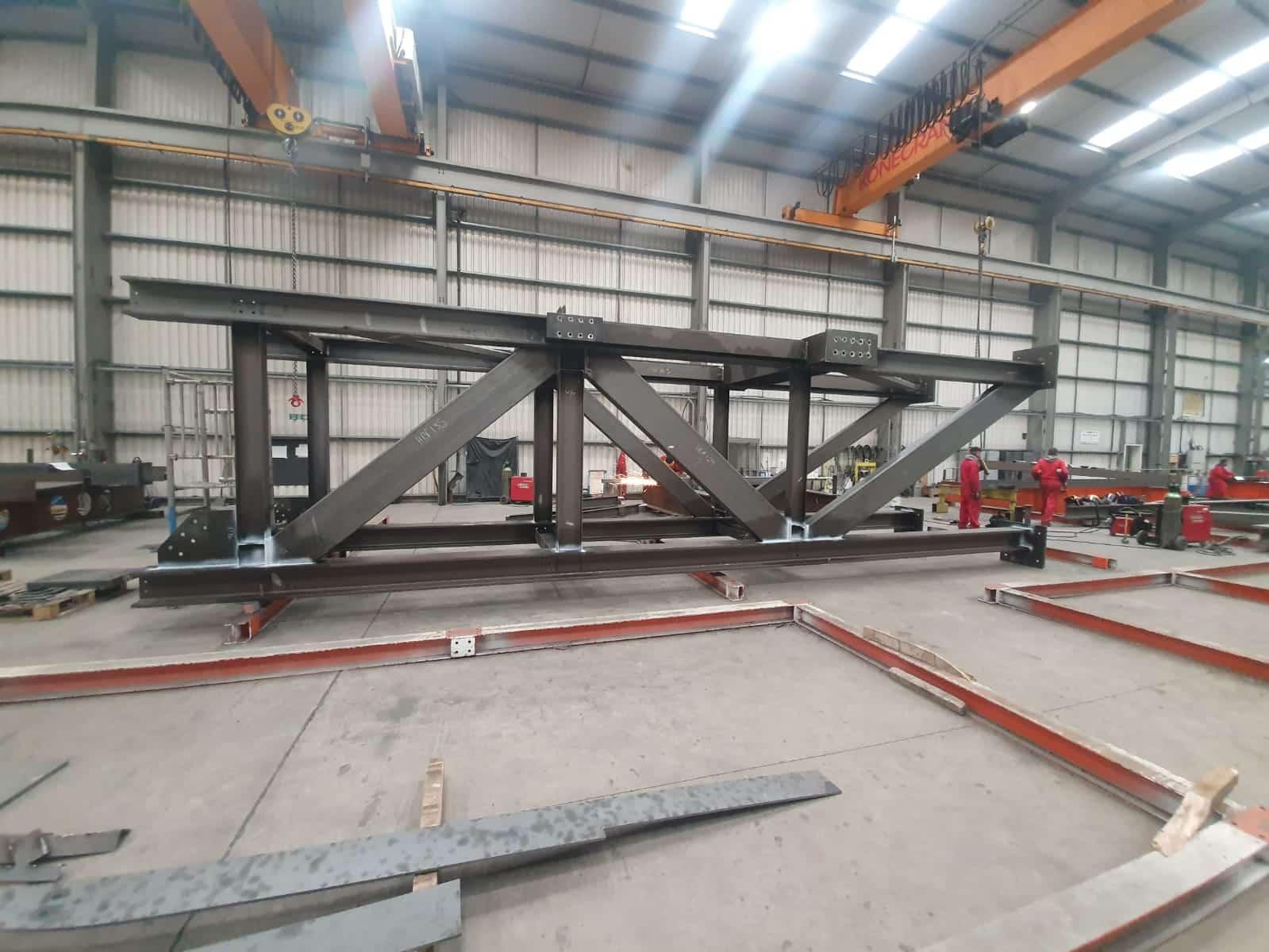 Welded steel frames 5