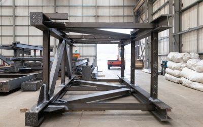 Large Modular Welded Structural Steel Frames