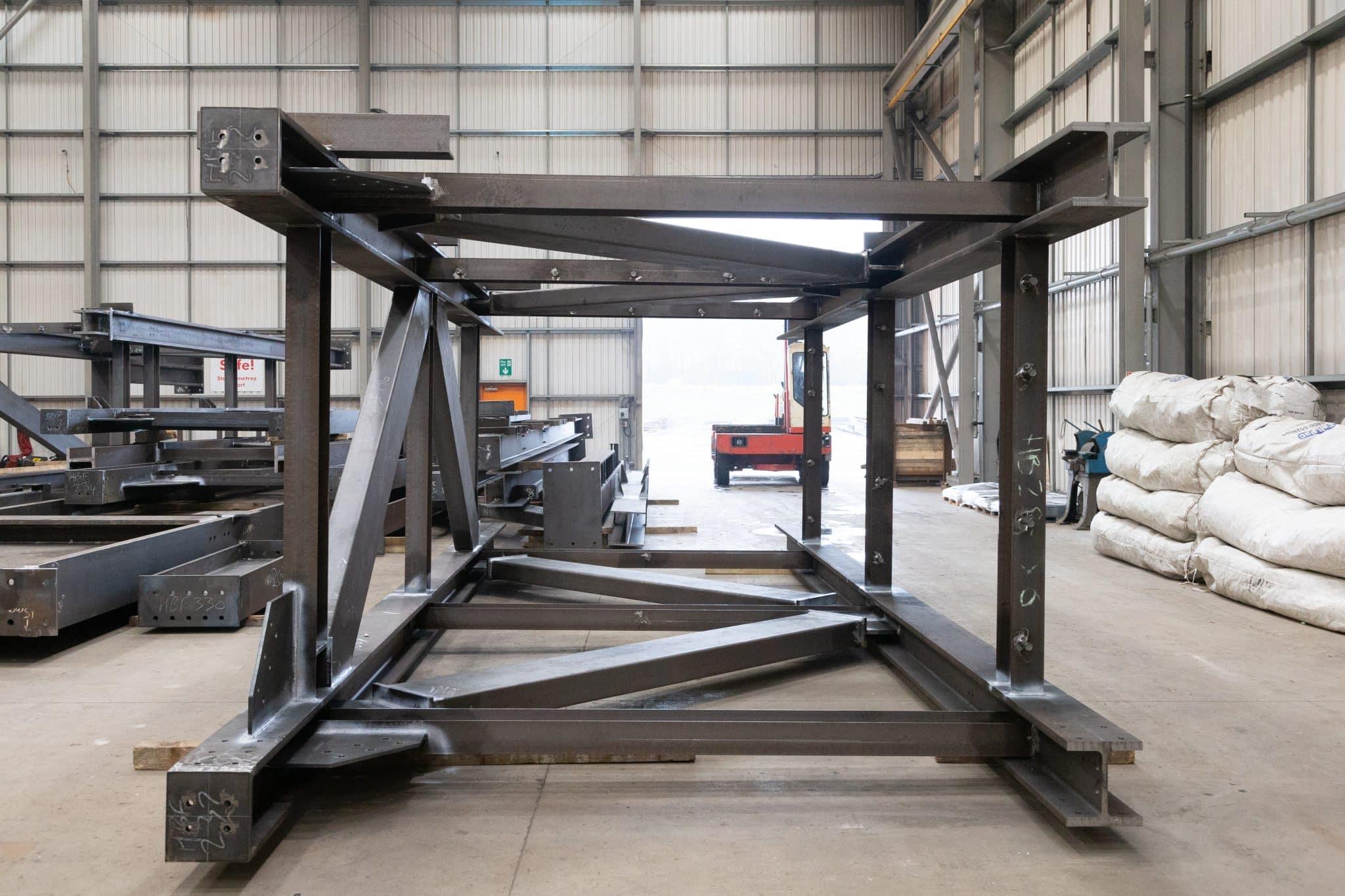 welded steel frame 1