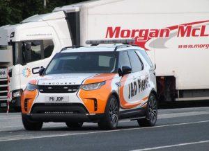 Land Rover Escort Vehicle