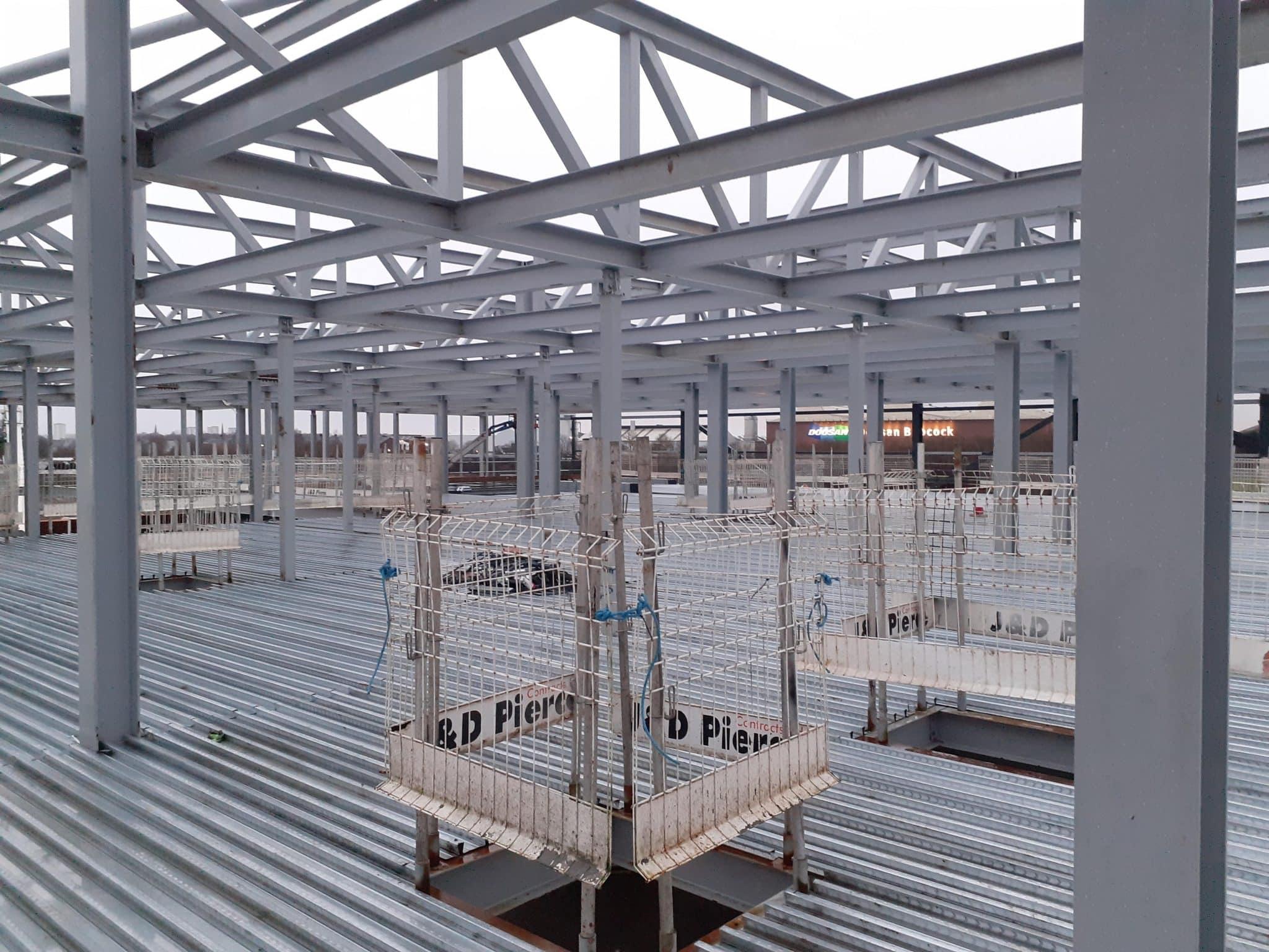 MMIC Steel Structure - JDPierce