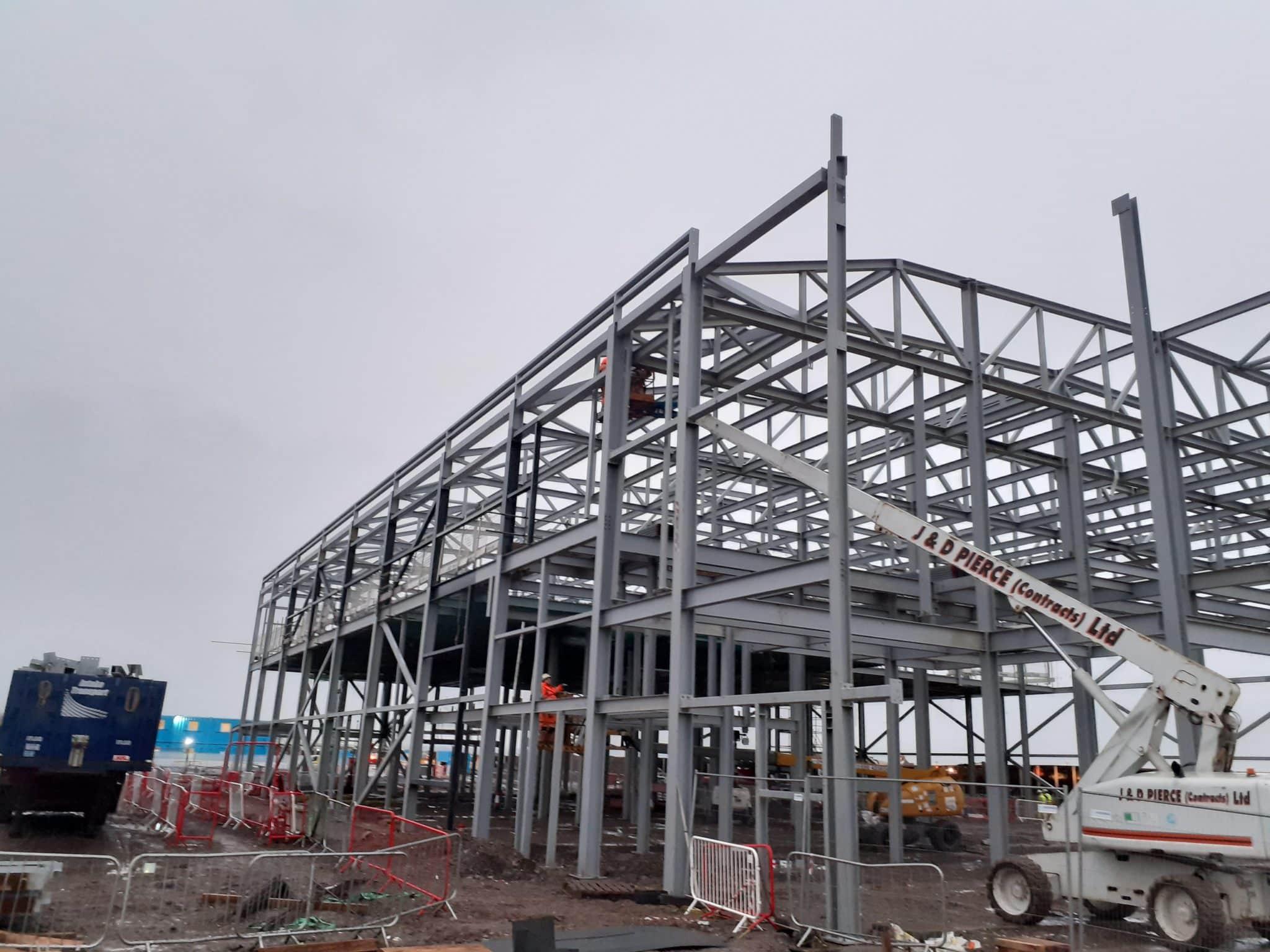 MMIC Structural Steel Progress - JDPierce