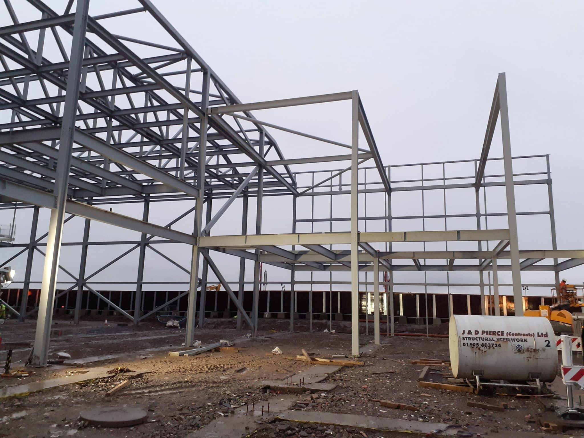 MMIC Structural Steelwork Construction - JDPierce