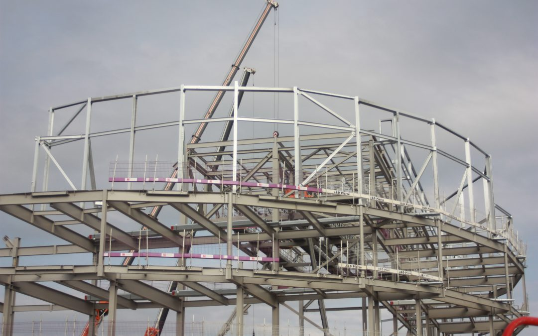 Swansea Arena and Car Park Construction Complete