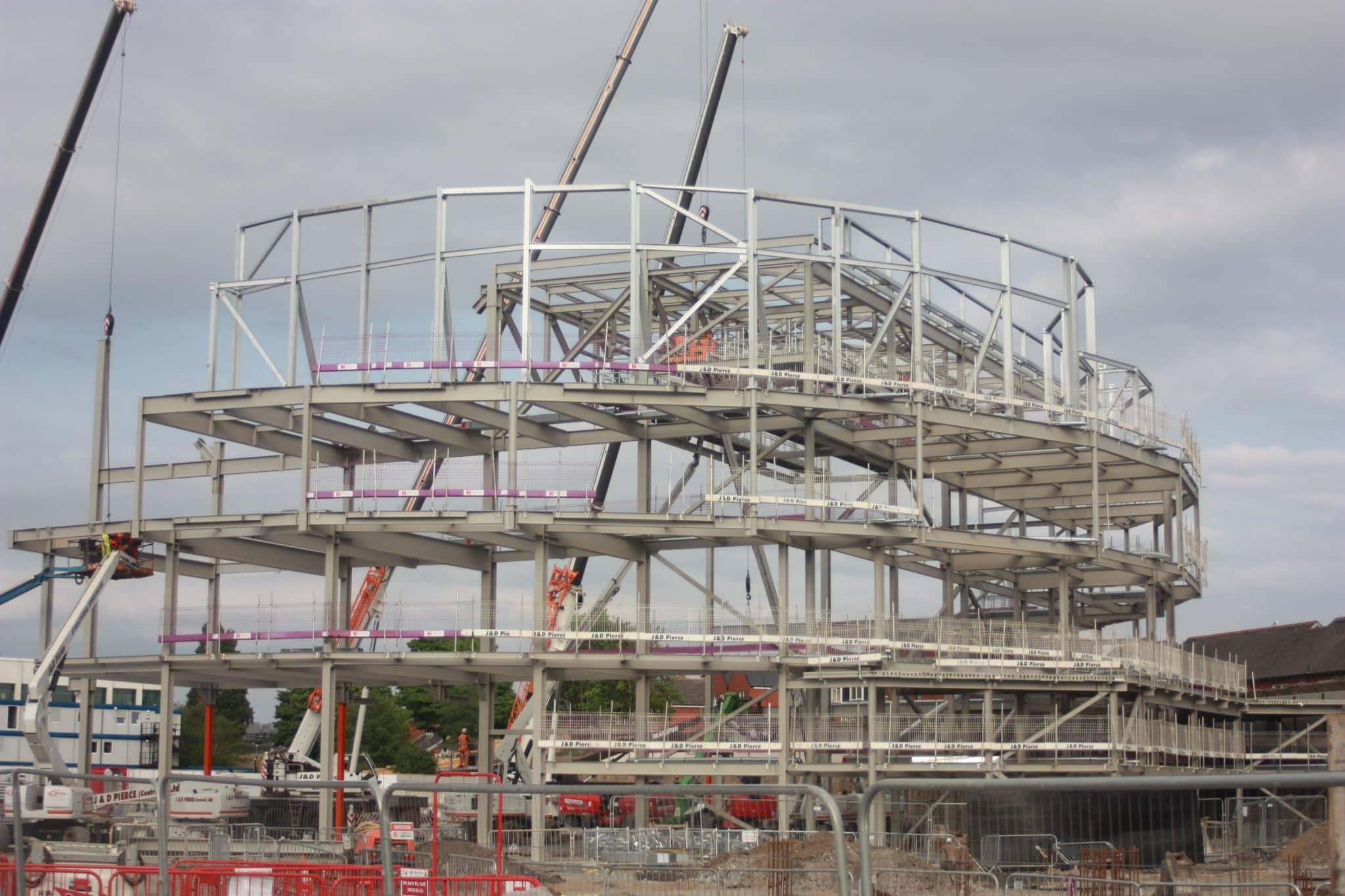 Swansea Arena - Structural Steel - JDPierce