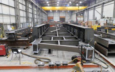 Footbridge Fabrication Progressing Well