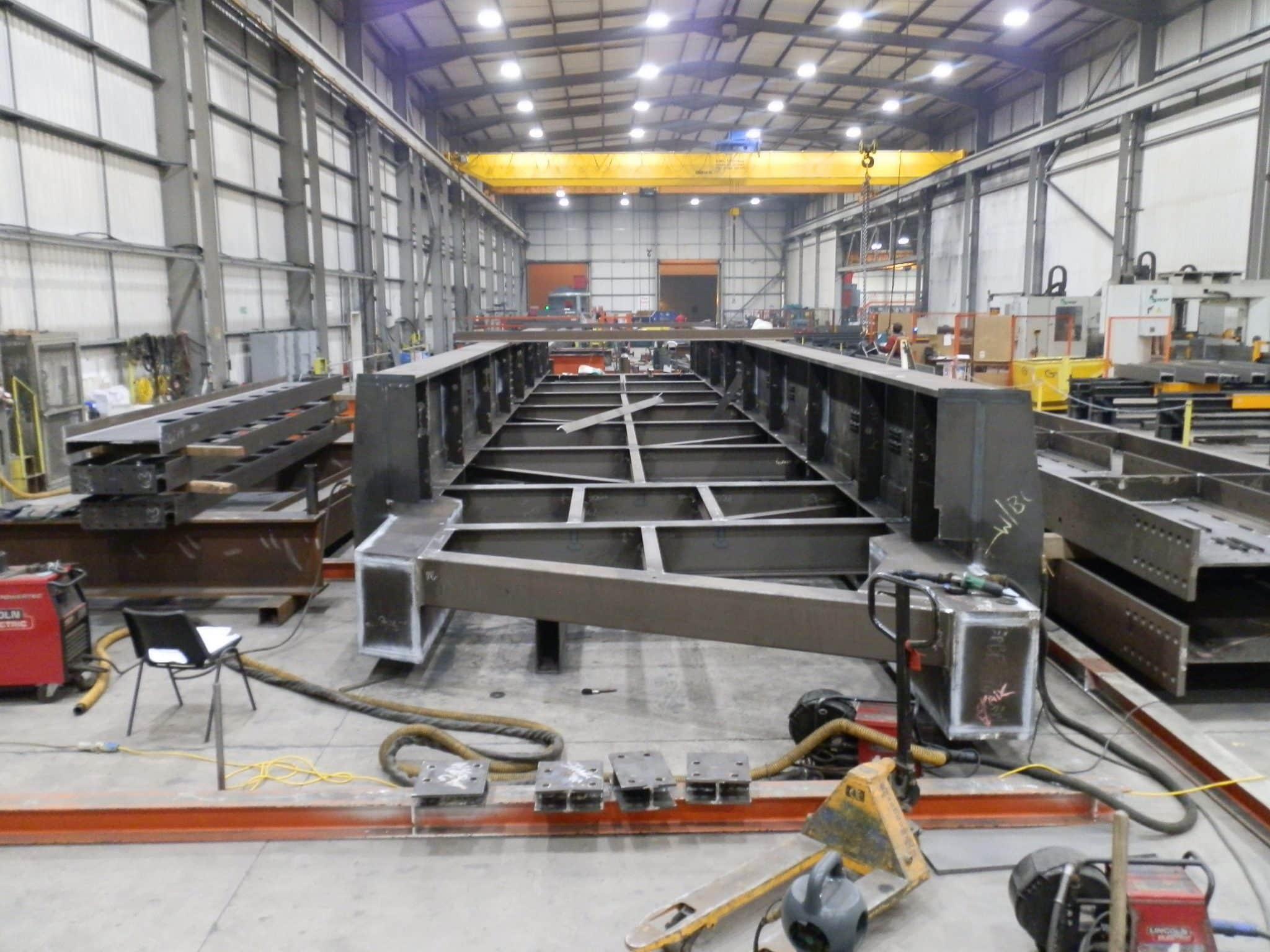 Wembley Footbridge fabrication