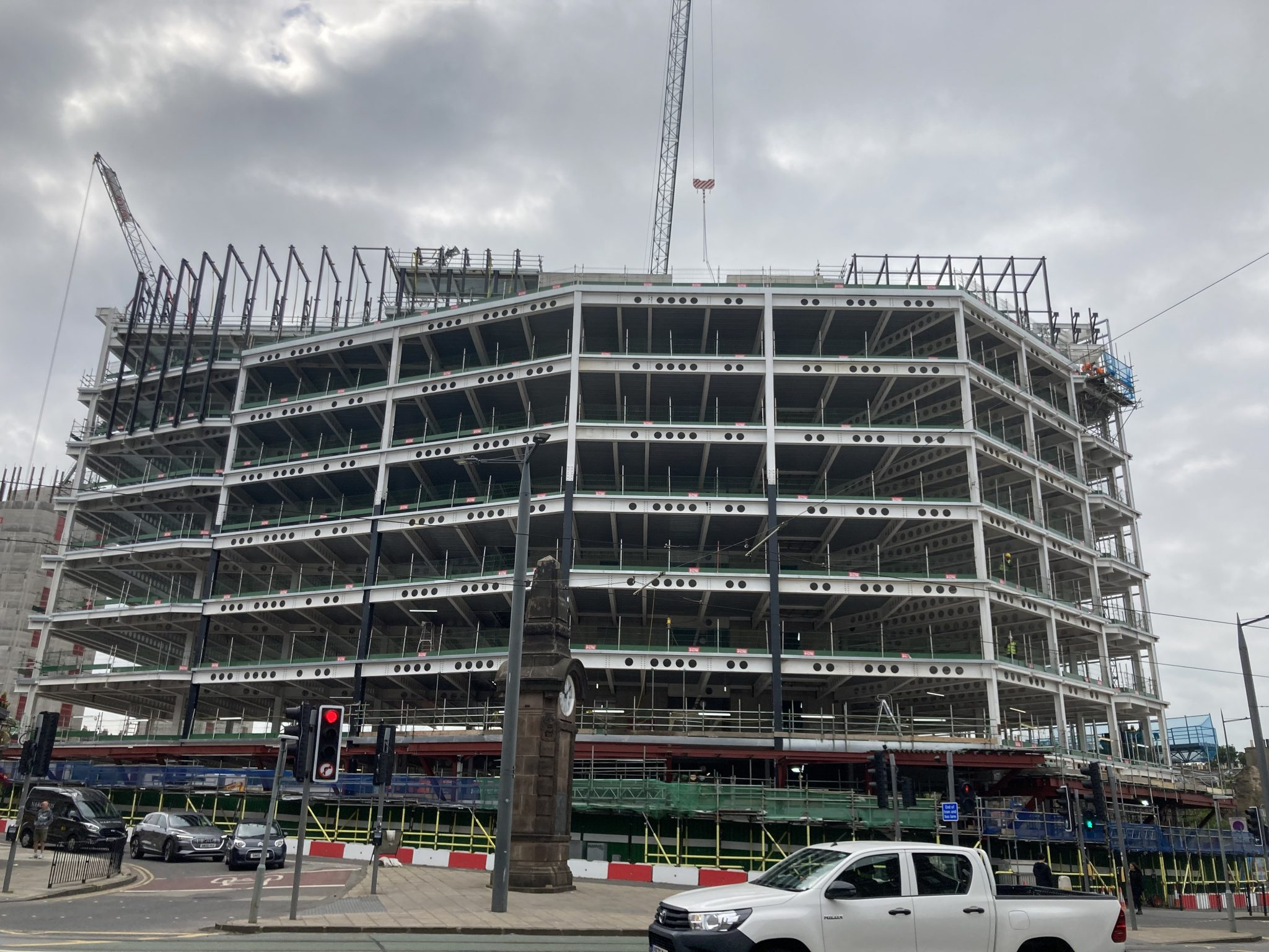 Haymarket project nears completion